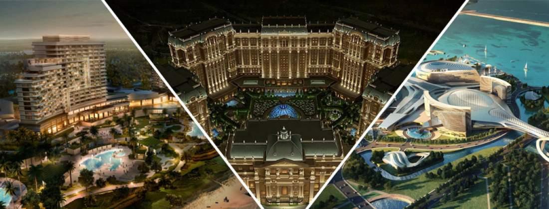 3 plus grands projets de casino dans le monde